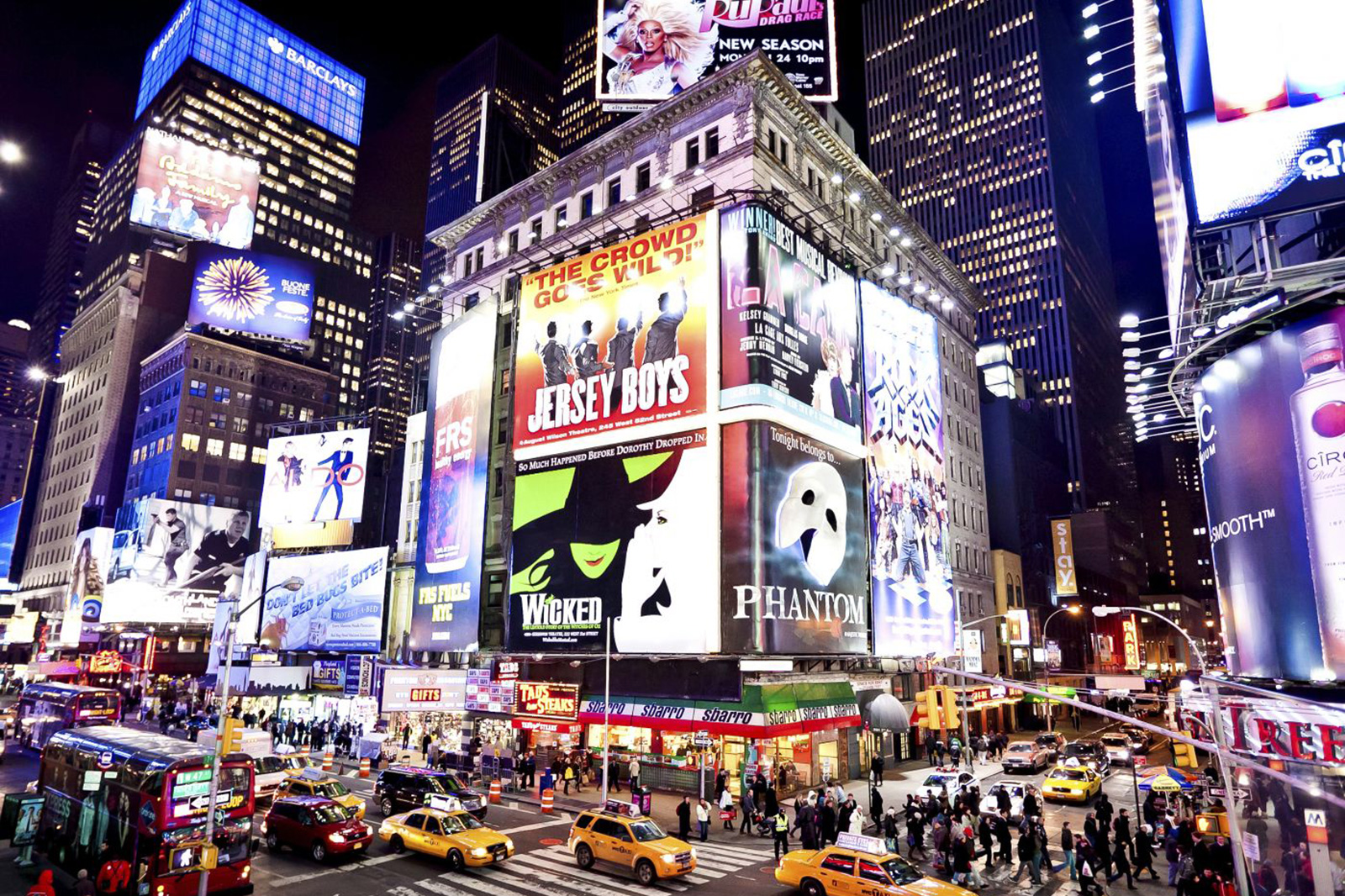 Theatre District Go Nyc Tourism Guide