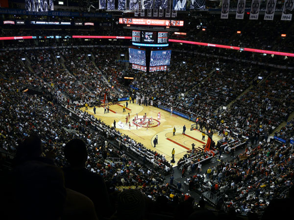 Air Canada Centre During a Raptors Game