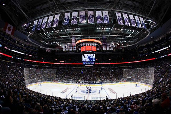 Air Canada Centre During a Maple Leafs Game
