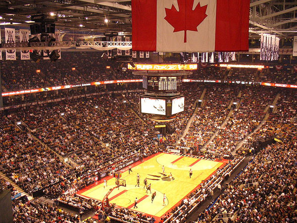Toronto Raptors at Air Canada Centre